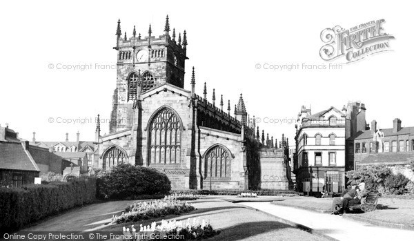 Photo of Wigan, All Saints Church c.1960