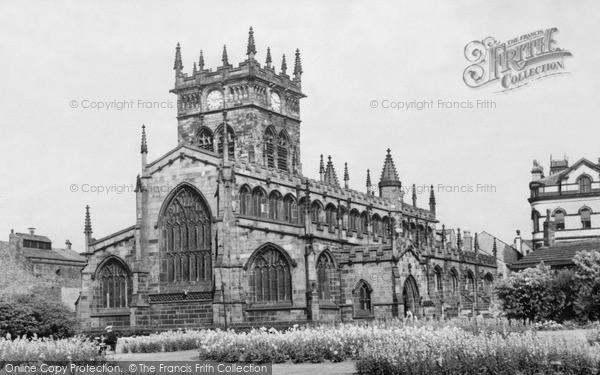 Photo of Wigan, All Saints Church c.1960