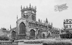 Wigan, All Saints Church c.1960