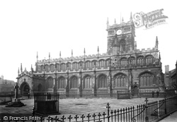 Wigan, All Saints Church From The South Side 1895