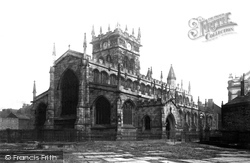 Wigan, All Saints Church From The South West 1895