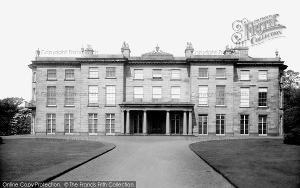 Photo of Wigan, Haigh Hall 1896