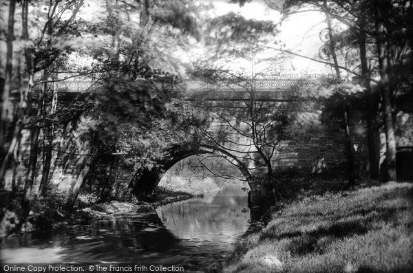 Photo of Wigan, Haigh Park Bridge 1896