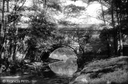 Wigan, Haigh Park Bridge 1896