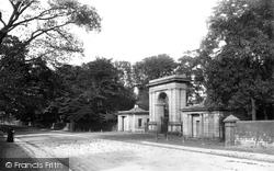 Wigan, Haigh Park, Entrance Gate 1895