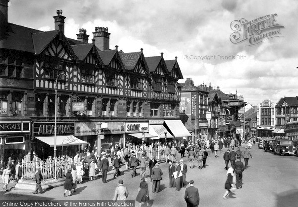 Photo of Wigan, Market Place c.1955