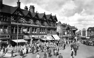 Wigan, Market Place c1955