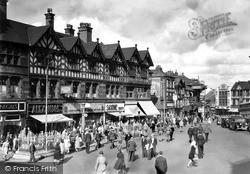 Wigan, Market Place c.1955