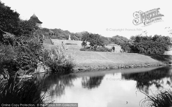 Photo of Wigan, Mesnes Park c.1955