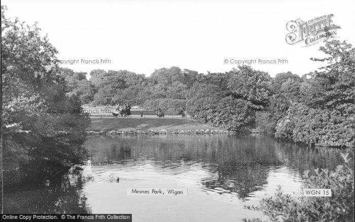 Photo of Wigan, Mesnes Park c.1960