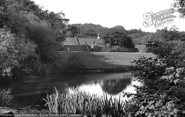 Photo of Wigan, Mesnes Park c.1960