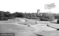 Wigan, Mesnes Park c.1960