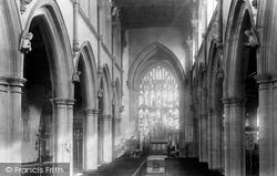 Wigan, Parish Church Interior 1897