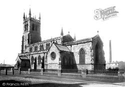 Wigan, Poolstock Church 1897