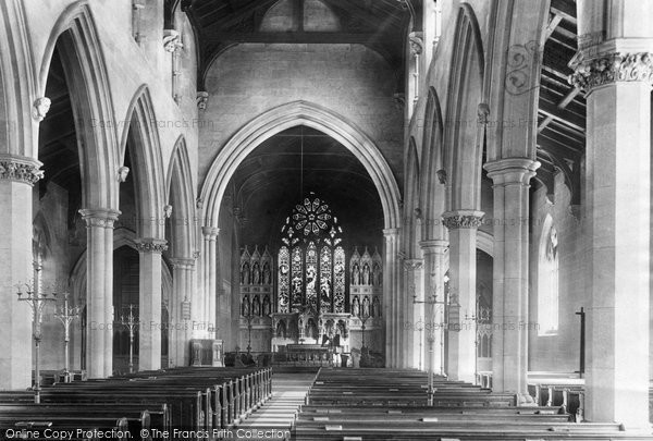 Photo of Wigan, Poolstock Church Interior 1897