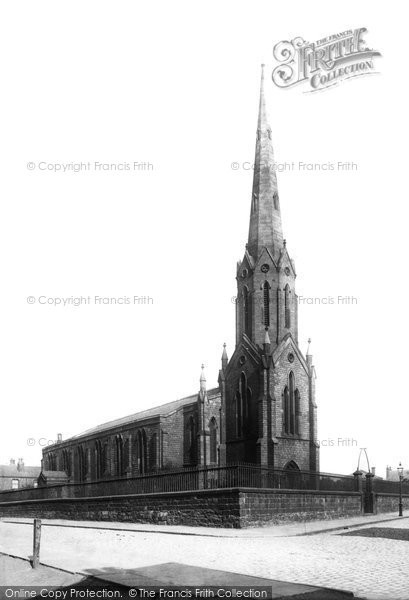 Photo of Wigan, St Catherine's Church 1896
