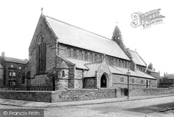 Wigan, St Michael's Church 1896