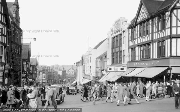 Photo of Wigan, Standishgate c.1950