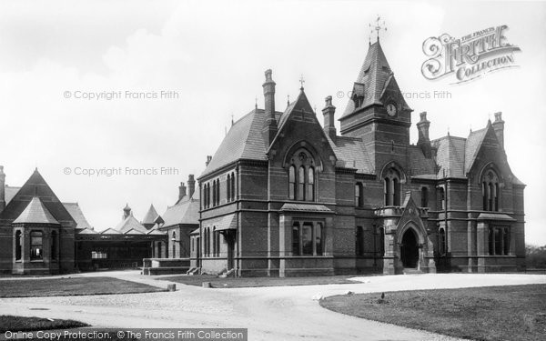 Photo of Wigan, The Infirmary 1896
