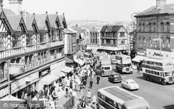 Wigan, The Market Place c.1960