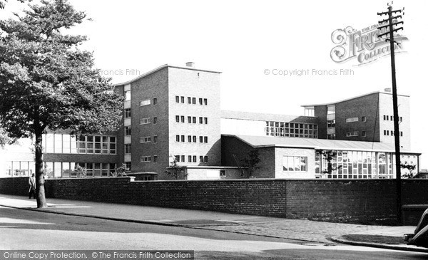 Wigan, the Thomas Linacre Technical School c1960