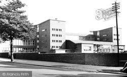 Wigan, The Thomas Linacre Technical School c.1960