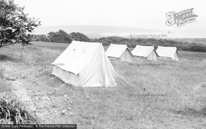 Photo of Wigfach, Gorwelion Girl Guides Camp c.1965