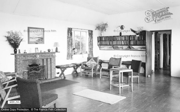 Photo of Wigfach, Gorwelion Girl Guides Camp, The Common Room c.1965