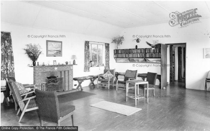 Photo of Wigfach, The Lounge, Gorwelion Girl Guides Camp c.1965