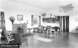 Wigfach, The Lounge, Gorwelion Girl Guides Camp c.1965