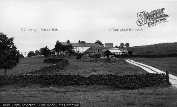 Photo of Wigglesworth, Hammerton Farm c.1955