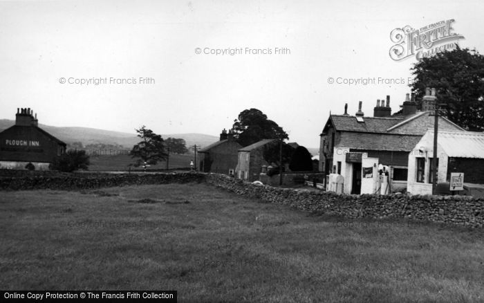 Photo of Wigglesworth, The Village And Plough Inn c.1955