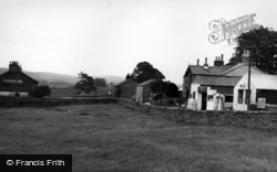 The Village And Plough Inn c.1955, Wigglesworth