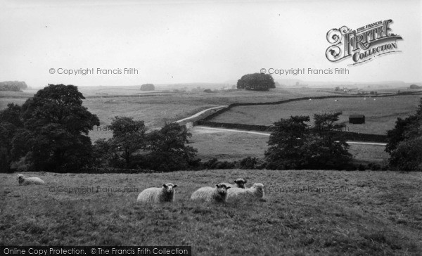 Photo of Wigglesworth, View From The School c.1955