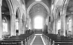 All Saints Church, Interior c.1955, Wighton
