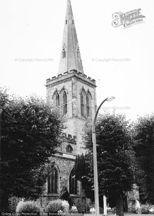 Photo of Wigston, All Saints Church c.1965