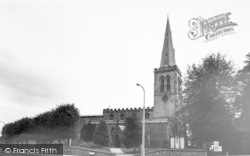 Wigston, All Saints Church c.1965