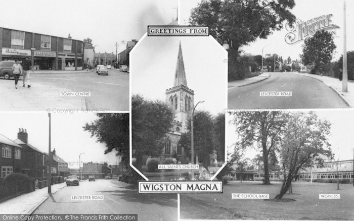 Photo of Wigston, Composite c.1965