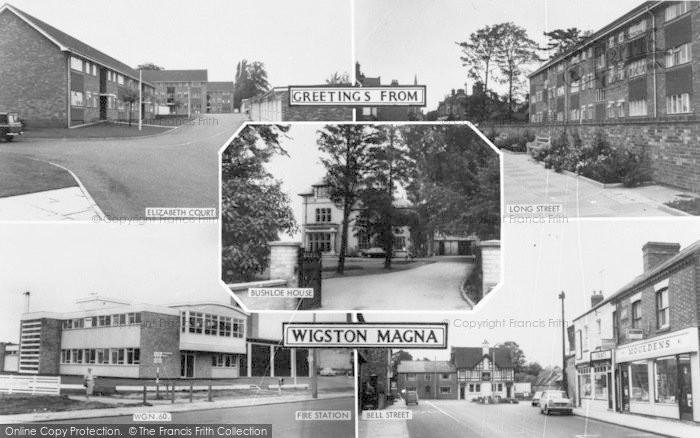 Photo of Wigston, Composite c.1965