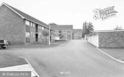 Wigston, Elizabeth Court c.1965