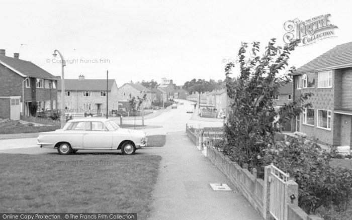 Photo of Wigston, Hillside Avenue c.1965