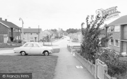 Wigston, Hillside Avenue c.1965
