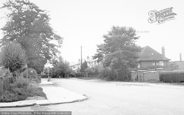 Photo of Wigston, Leicester Road c.1955
