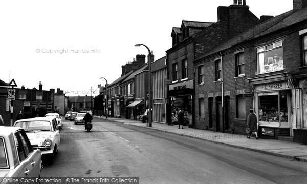 Photo of Wigston, Leicester Road c.1965