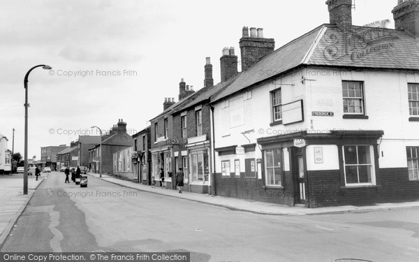 Photo of Wigston, Leicester Road, Looking North c.1965