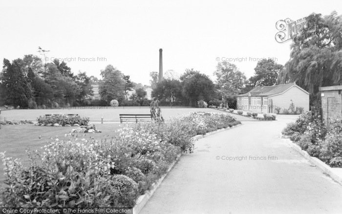 Photo of Wigston, Memorial Park c.1965