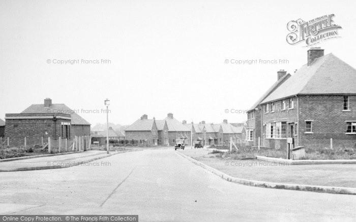Photo of Wigston, New Estate c.1955