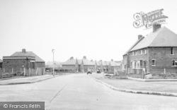 Wigston, New Estate c.1955
