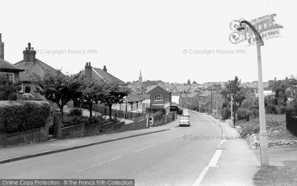 Photo of Wigston, Newton Lane c.1965