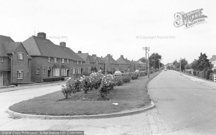 Photo of Wigston, Rollestone Road c.1965